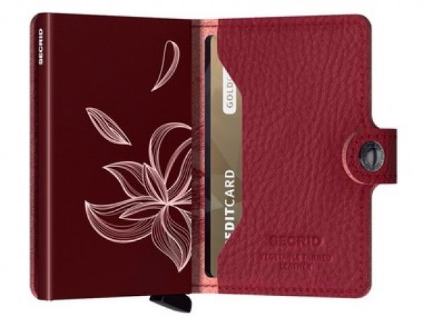 Miniwallet with Over Stitching