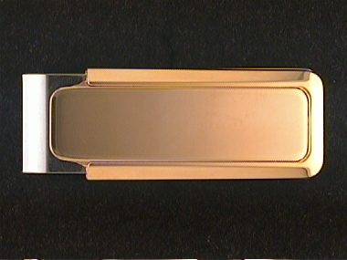 Gold Plate Money Clip