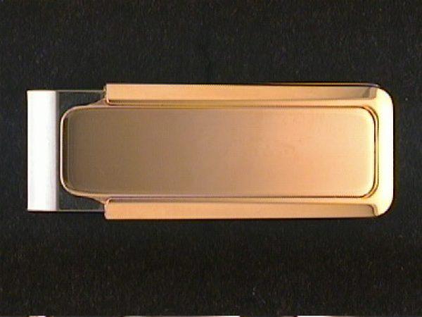 Gold Plate Money Clip