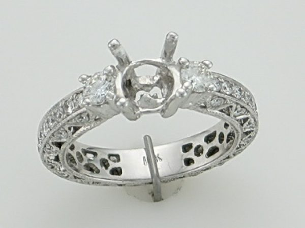 18kw 1.14cts Ring Mount