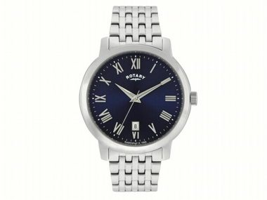 Blue Dial Classic Quartz Watch