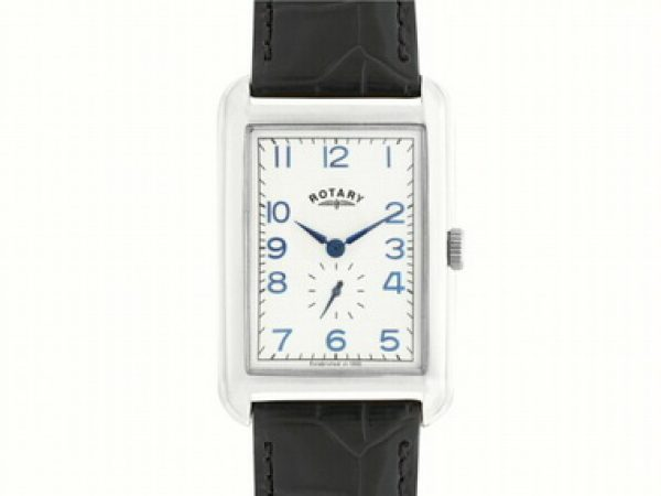 Rectangular Dial Quartz Watch