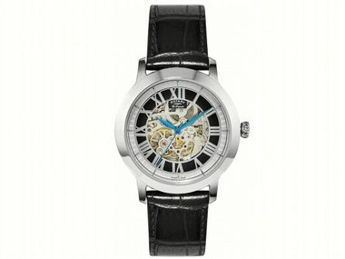 Black Skeleton Automatic Watch