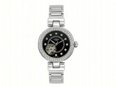 Ladies Black Dial Automatic Watch
