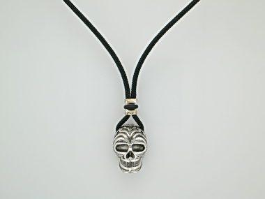 Silver Skull Necklace