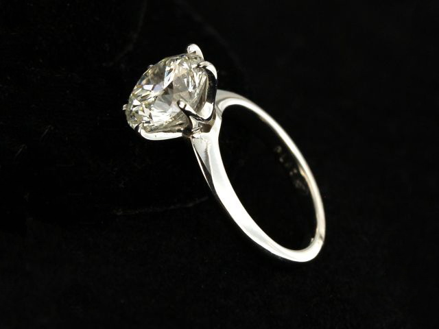3.51 ct Engagement Ring
