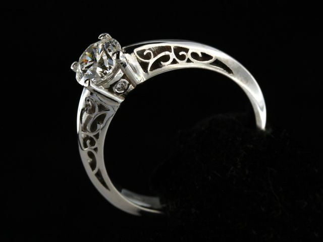 0.95 ct Engagement Ring
