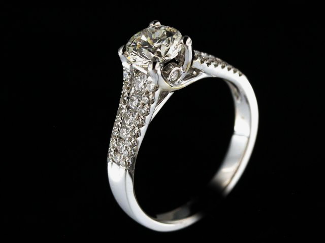 18KT Diamond Engagement