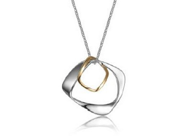 ELLE Mobius Pendant and Chain