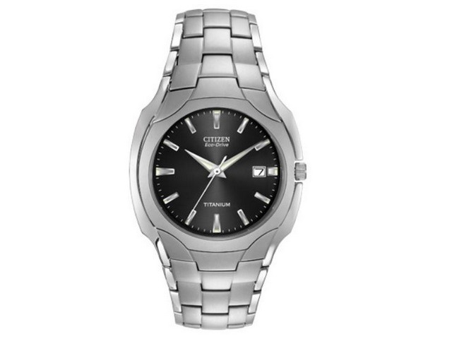 Gents Eco-Drive Titanium Watch