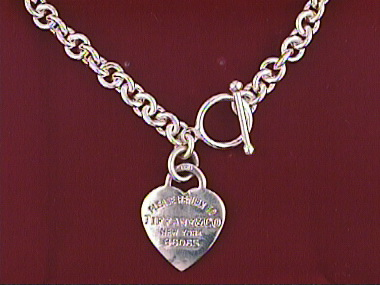 17 Inch Necklace With Heart
