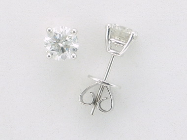 2.01 ctw Diamond Studs