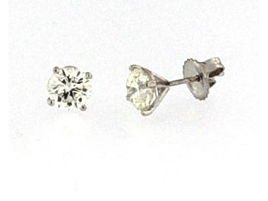 2.02 ctw Diamond Studs