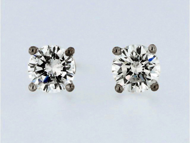 1.11 CTW Diamond Stud Earrings