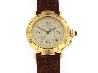 18KT Gold Cartier Pasha
