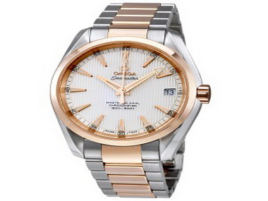 Omega Seamaster Two Tone Chronometer