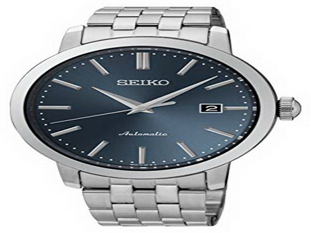 Gents Seiko Blue Dial Automatic Watch