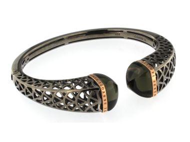 Silver and Onyx Bracelet