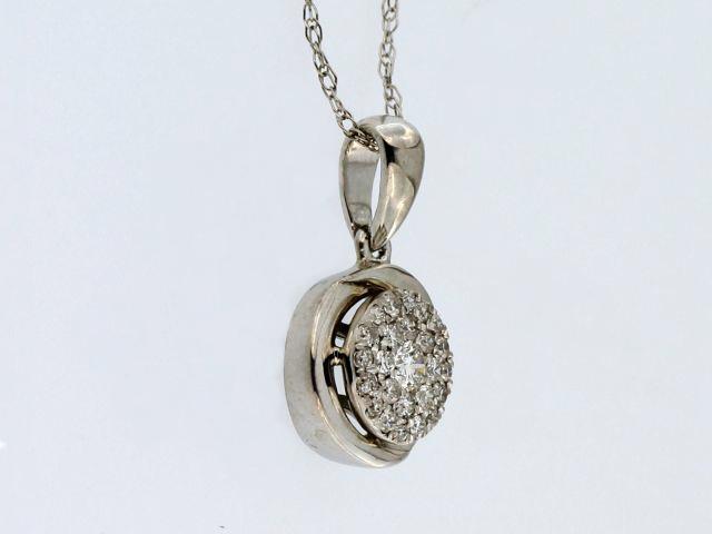 0.15 ctw Diamond Pendant