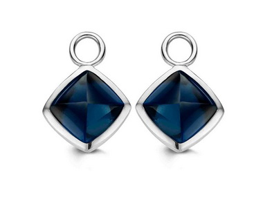 Blue Earring Charms