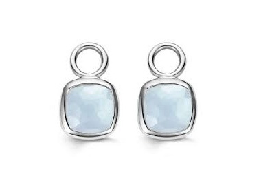 Light Blue Earring Charms