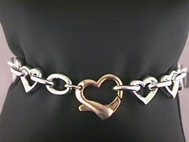 Interlocking Hearts W G P Clasp