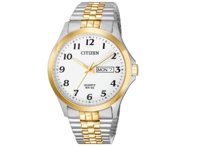 Gents Two-tone Citizen Quartz Watch
