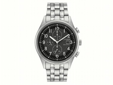 Gents Eco Drive Chronograph
