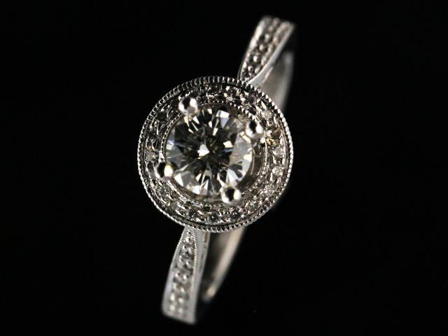 0.56 Ct Diamond Engagement Ring
