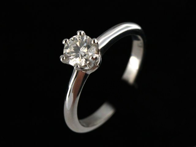 0.52 Ct Solitaire Engagement Ring