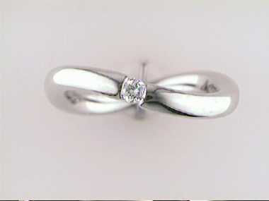 14kt Ring With 0.07 Ct Diamond