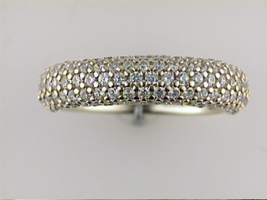 Yellow Band With Cubic Zirconias