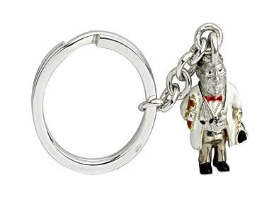 Silver Doctor Keyring