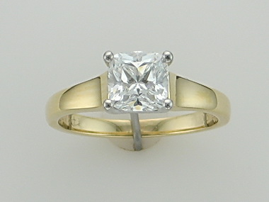 0.87 Ct Birks Engagement Ring