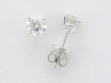 2.01 ctw Diamond Studs