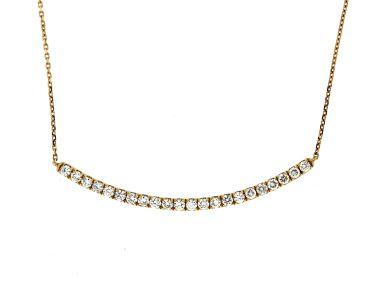 0.76 ctw Diamond Necklace