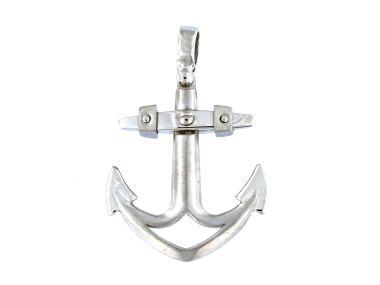 10KT Anchor Pendant