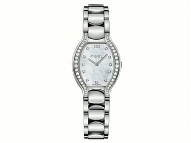 Ladies Beluga With Diamond Case