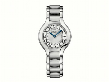 Ladies White Dial Beluga