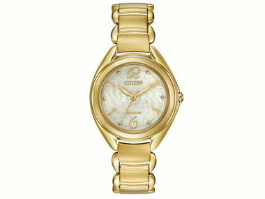 Goldtone Citizen L Watch