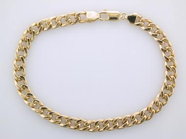 9 inch Gents Curb Bracelet