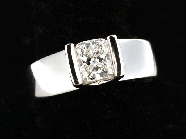 14KT 1.06ct Engagement Ring