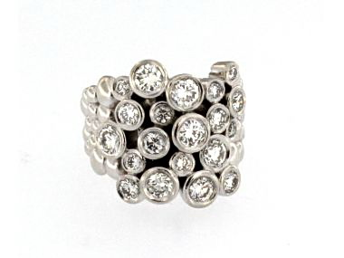 """14KT """"Bubbles"""" Ring"""