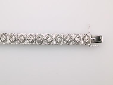 18KW Diamond Bracelet