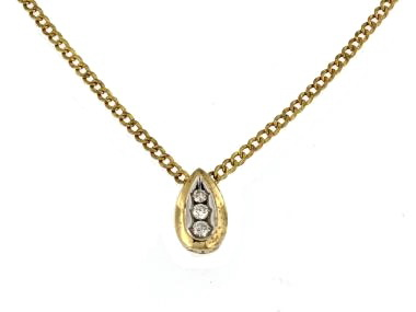 14KT Pendant and Chain
