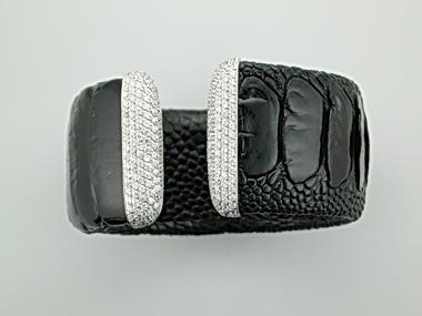Ostrich Cuff Bracelet