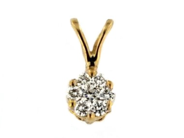 0.13 ctw Diamond Pendat