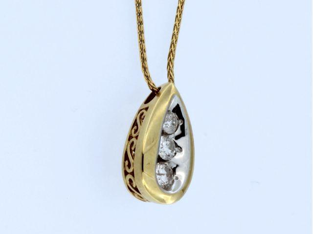 0.50 ctw Diamond Pendant