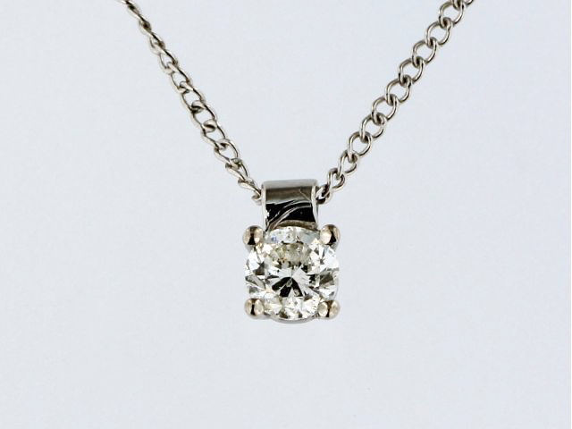 0.39 ct Diamond Pendant