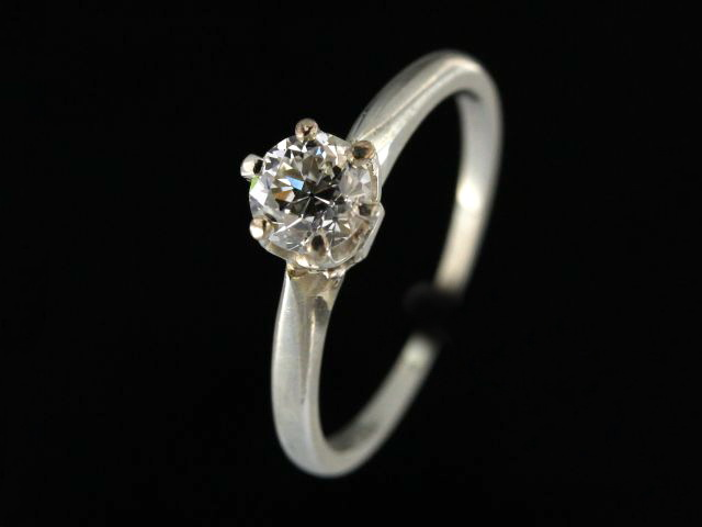0.50 ct Diamond Solitaire Ring
